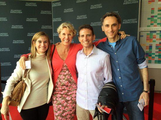 Miranda Benhayon, Simone Delarome, Serge Benhayon & Elkan Spiller | Filmfest, Mainz, Germany 2014
