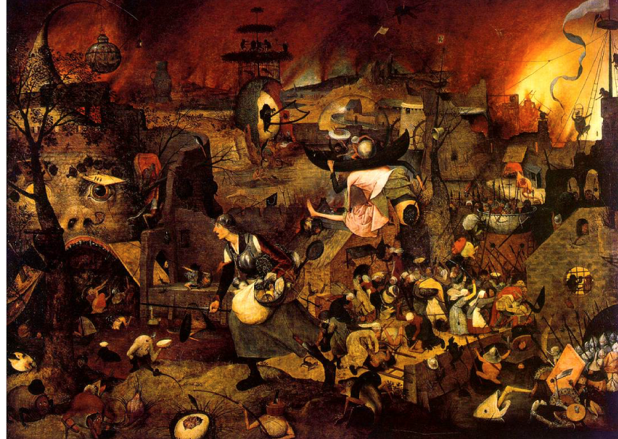 Dulle Griet (Mad Meg) (Painting by Pieter Bruegel the Elder)